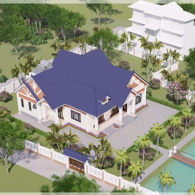 70412668 2315457905336751 1277625399009869824 n - 5 Mẫu nhà 1 tầng mái thái có thể tham khảo xây ở nông thôn
