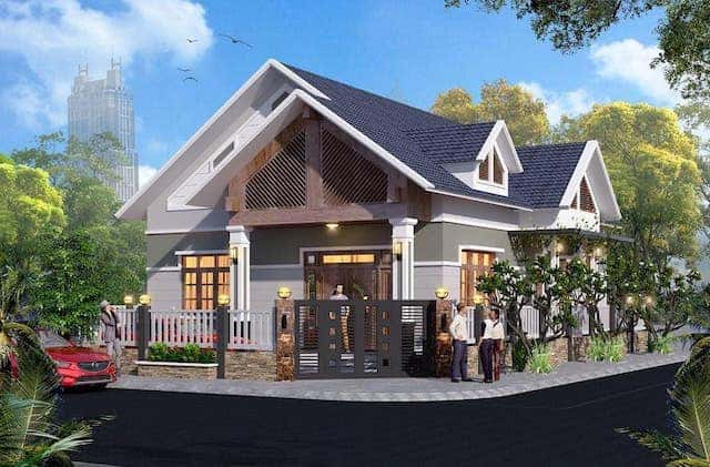 70443019 2315458385336703 6908112204470419456 n - 5 Mẫu nhà 1 tầng mái thái có thể tham khảo xây ở nông thôn