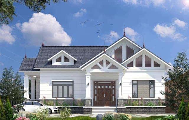 70899388 2315458038670071 4332858038651191296 n - 5 Mẫu nhà 1 tầng mái thái có thể tham khảo xây ở nông thôn