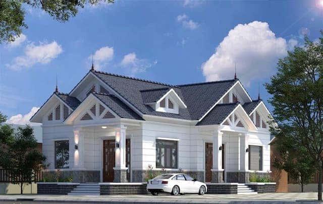 71385587 2315458175336724 2224624718084833280 n - 5 Mẫu nhà 1 tầng mái thái có thể tham khảo xây ở nông thôn