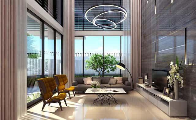 Ngam nhin mau nha biet thu 2 tang dep hut mat nguoi xem 3 - Thiết kế biệt thự 2 tầng hiện đại lô góc phố có gara ô tô