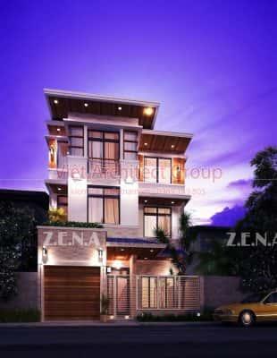 THU DUC HOUSE OPTION 2 310x400 - Công trình biệt thự phố hiện đại 4 tầng đẹp