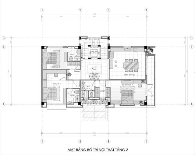 biet thu 3 tang 150m2 dep 4 - Chiêm ngưỡng thiết kế biệt thự hiện đại 3 tầng 2 mặt tiền đẹp