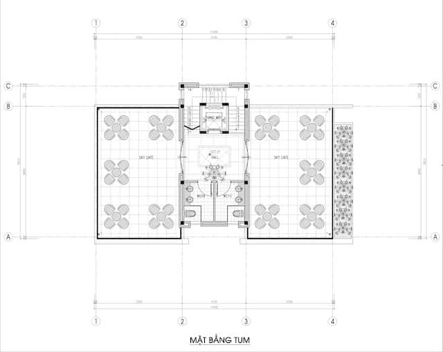 biet thu 3 tang 150m2 dep 6 - Chiêm ngưỡng thiết kế biệt thự hiện đại 3 tầng 2 mặt tiền đẹp