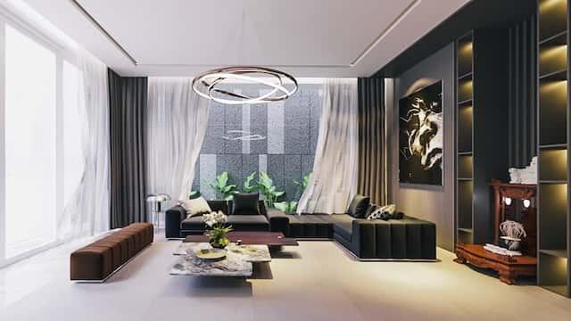 biet thu 3 tang 150m2 dep 7 - Chiêm ngưỡng thiết kế biệt thự hiện đại 3 tầng 2 mặt tiền đẹp