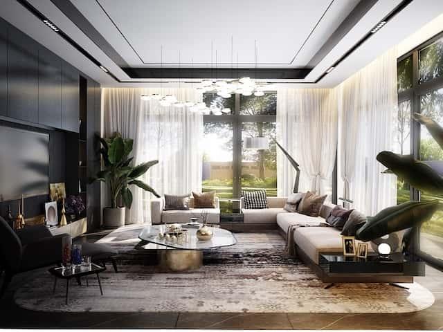biet thu 3 tang 15x20 hien dai 8 - Thiết kế biệt thự 3 tầng hiện đại mặt tiền 15m đẹp đẳng cấp