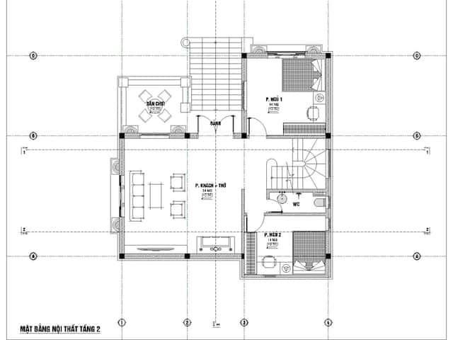 biet thu 3 tang 9x12 tan co dien 6 - Thiết kế biệt thự 3 tầng tân cổ điển sang trọng diện tích  9x12m