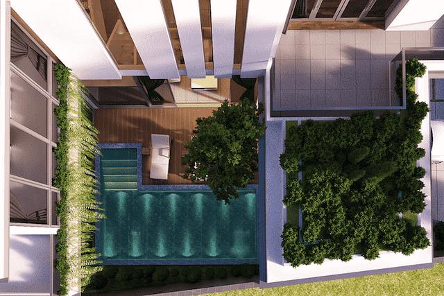 biet thu 300m2 3 tang hien dai 6 - Thiết kế biệt thự 3 tầng hiện đại đẹp có hồ bơi diện tích 300m2