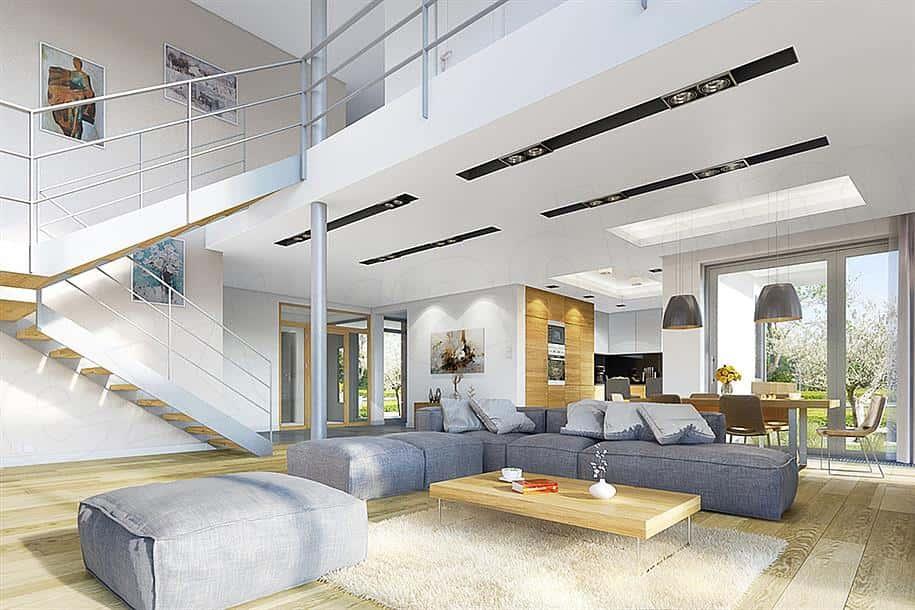 biet thu dep 2019 t8 7 ms003a - Biệt thự 2 tầng hiện đại sân vườn