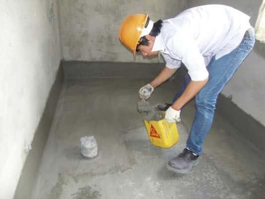 chong tham san ve sinh 533x400 - Các biện pháp chống thấm sàn vệ sinh