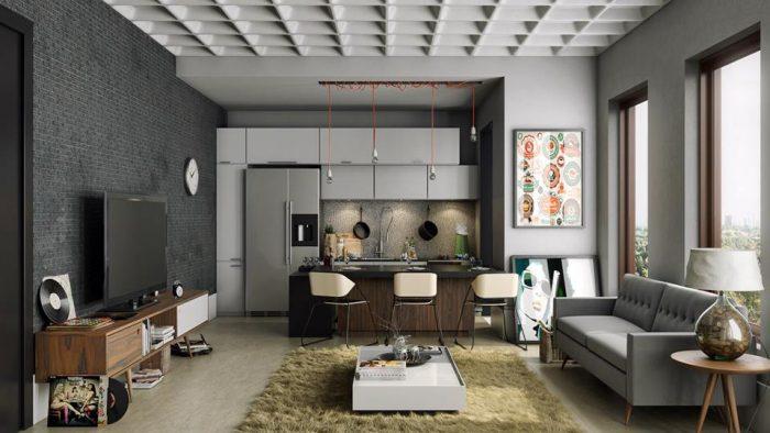 nội thất chung cư e1569472516670 - Phân loại không gian kiến trúc nội thất nhà ở