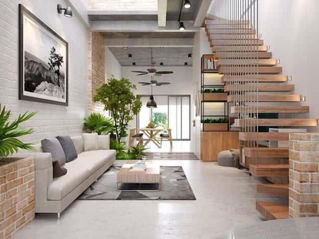 noi that nha dep ms004 - Xu hướng nội thất nhà đẹp hướng tới tự nhiên có không gian xanh