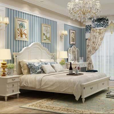 phong ngu tan co dien8 400x400 - Thiết kế nội thất phòng ngủ master đẹp