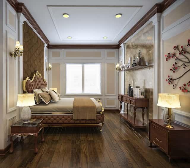 thiet ke noi that biet thu 3 tang co dien 13x18 11 - Thiết kế biệt thự cổ điển 3 tầng mặt tiền 13m đẳng cấp