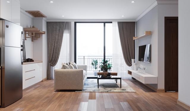 thiet ke noi that chung cu 70m2 2 - Thiết kế nội thất chung cư 70m2 đẹp sang ai cũng mê khi ghé thăm