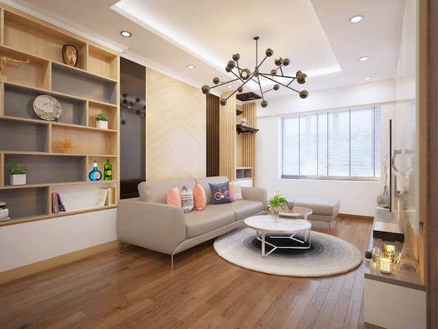thiet ke noi that chung cu 70m2 6 - Thiết kế nội thất chung cư 70m2 đẹp sang ai cũng mê khi ghé thăm