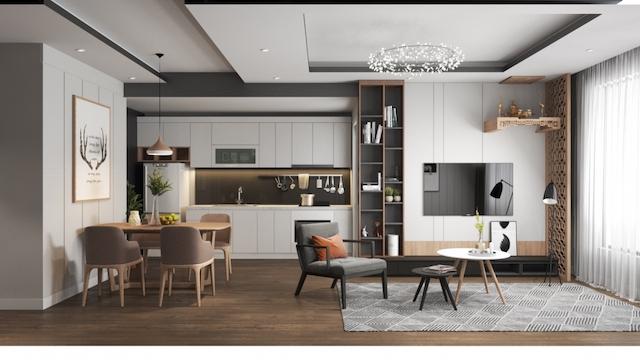 thiet ke noi that chung cu 70m2 dep 5 - Thiết kế nội thất chung cư 70m2 đẹp sang ai cũng mê khi ghé thăm