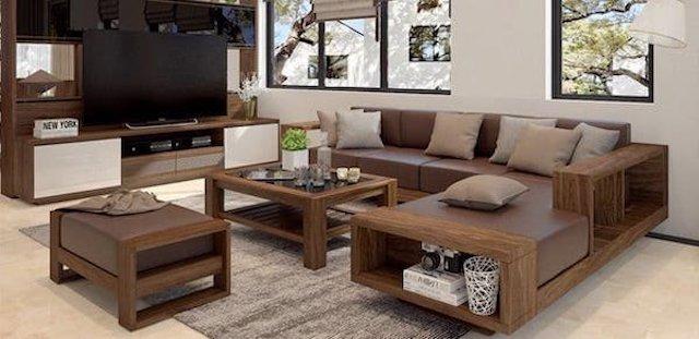 1563374905 bàn ghế sofa gỗ giá rẻ 2 - Bộ sưu tập bộ sofa gỗ đẹp nhất được nhiều người thích hiện nay