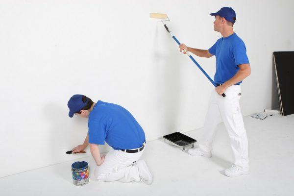 dịch vụ sơn nhà trọn gói 600x400 - giá sơn tường