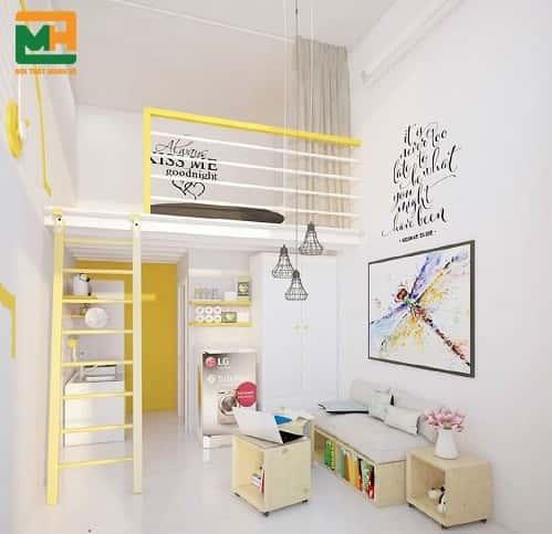 trang tri phong tro dep 1 - 9 Gợi ý giúp bạn trang trí phòng trọ đẹp rẻ tiết kiệm