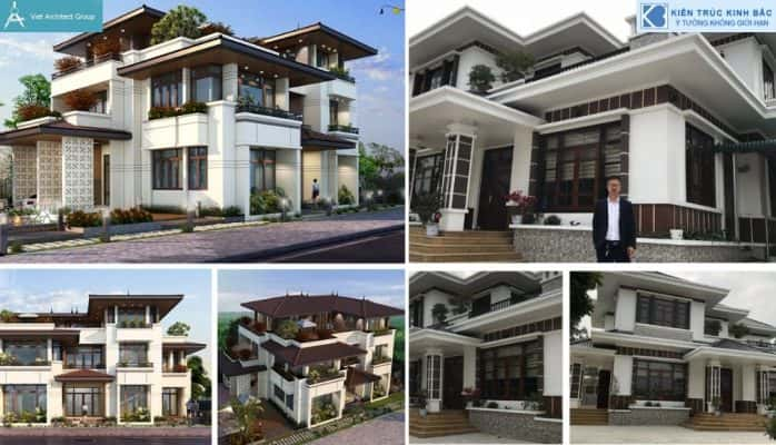 1 2 698x400 - Tổng hợp các công trình thiết kế biệt thự đẹp của kiến trúc sư Việt Architect