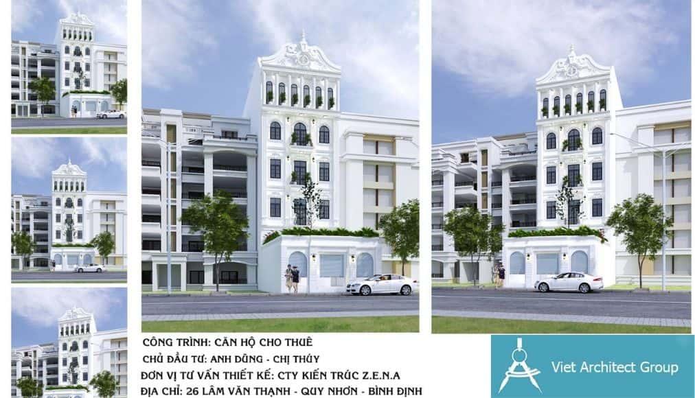1 3 - Công trình thiết kế căn hộ kinh doanh tại Quy Nhơn - Bình Định