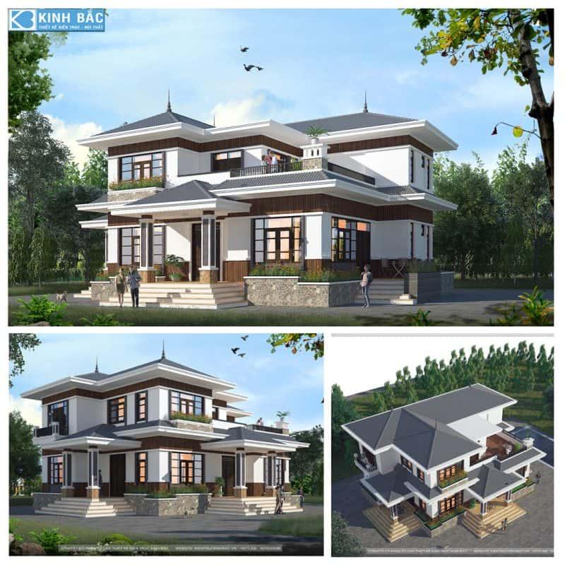 A THANG 1 e1575784579777 - Thiết kế nhà mái thái đẹp