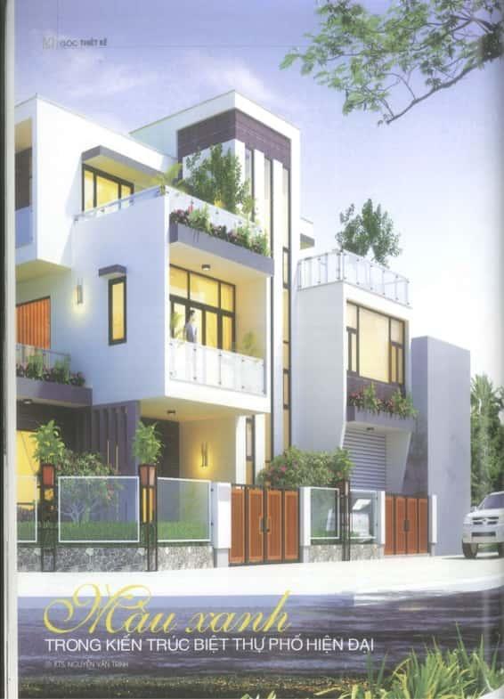 content3 - Công trình Biệt thự hiện đại Đông Triều - Quảng Ninh đăng trên tạp chí kiến trúc Việt Nam