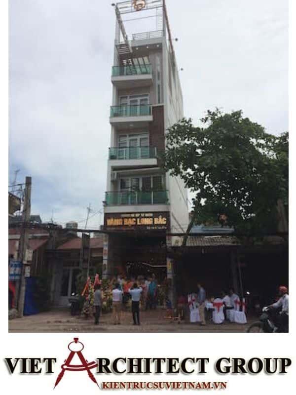 1 46 - Công trình thiết kế nhà ống 5 tầng anh Bắc - Hiệp Hoà, Bắc Giang
