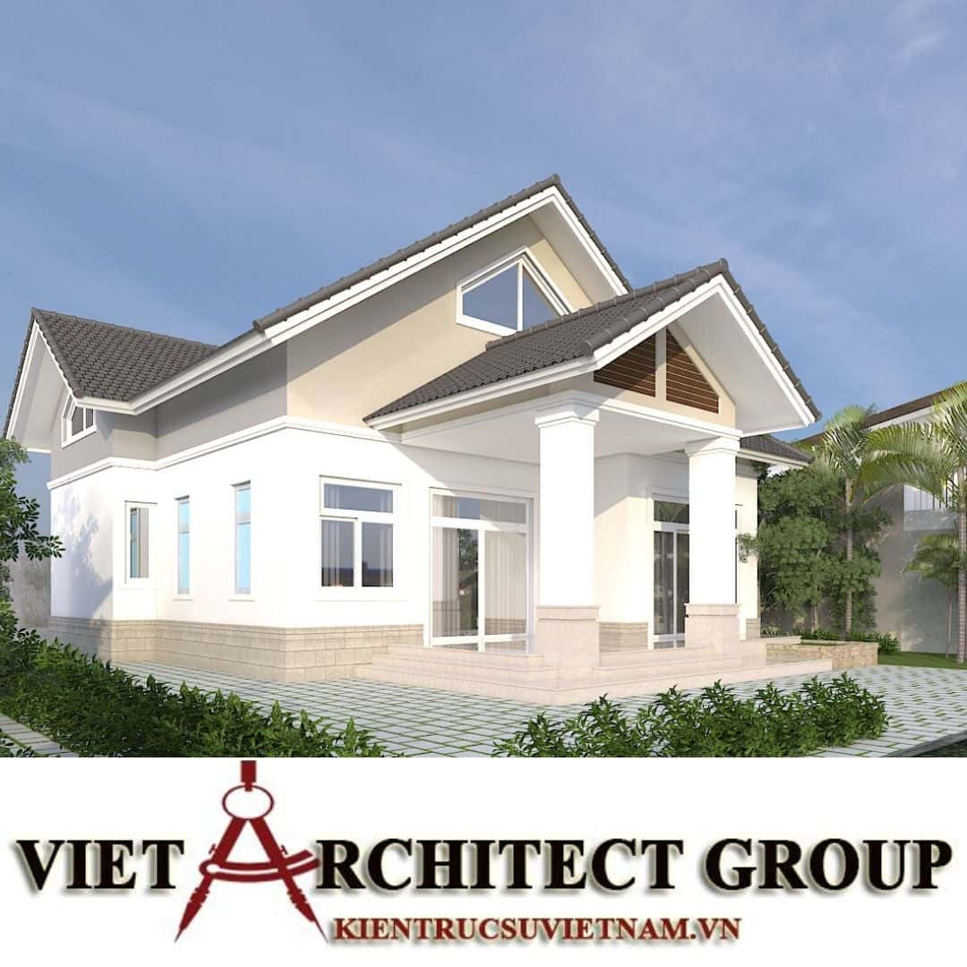 1 56 - Công trình nhà ở 1 tầng mái thái 3 phòng ngủ chị Dung - Nhơn Trạch, Đồng Nai