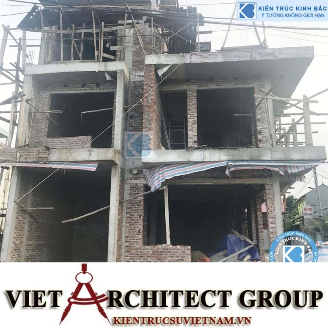 1 6 - Công trình biệt thự 3 tầng 2 mặt tiền hiện đại 300m2 ở Hoài Đức, Hà Nội