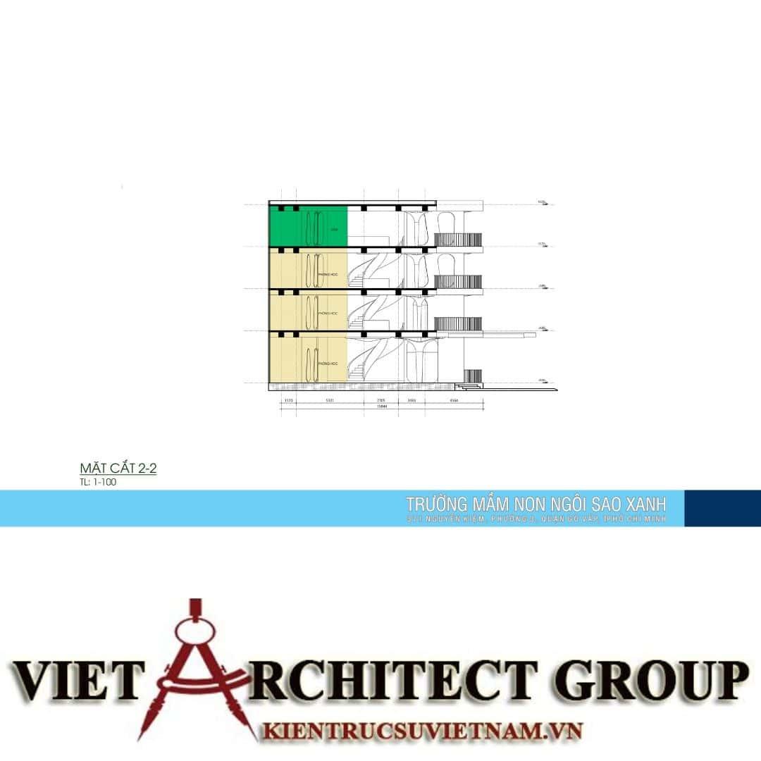 12 1 - Thiết kế trường mầm non quận Gò Vấp tiêu chuẩn quốc gia