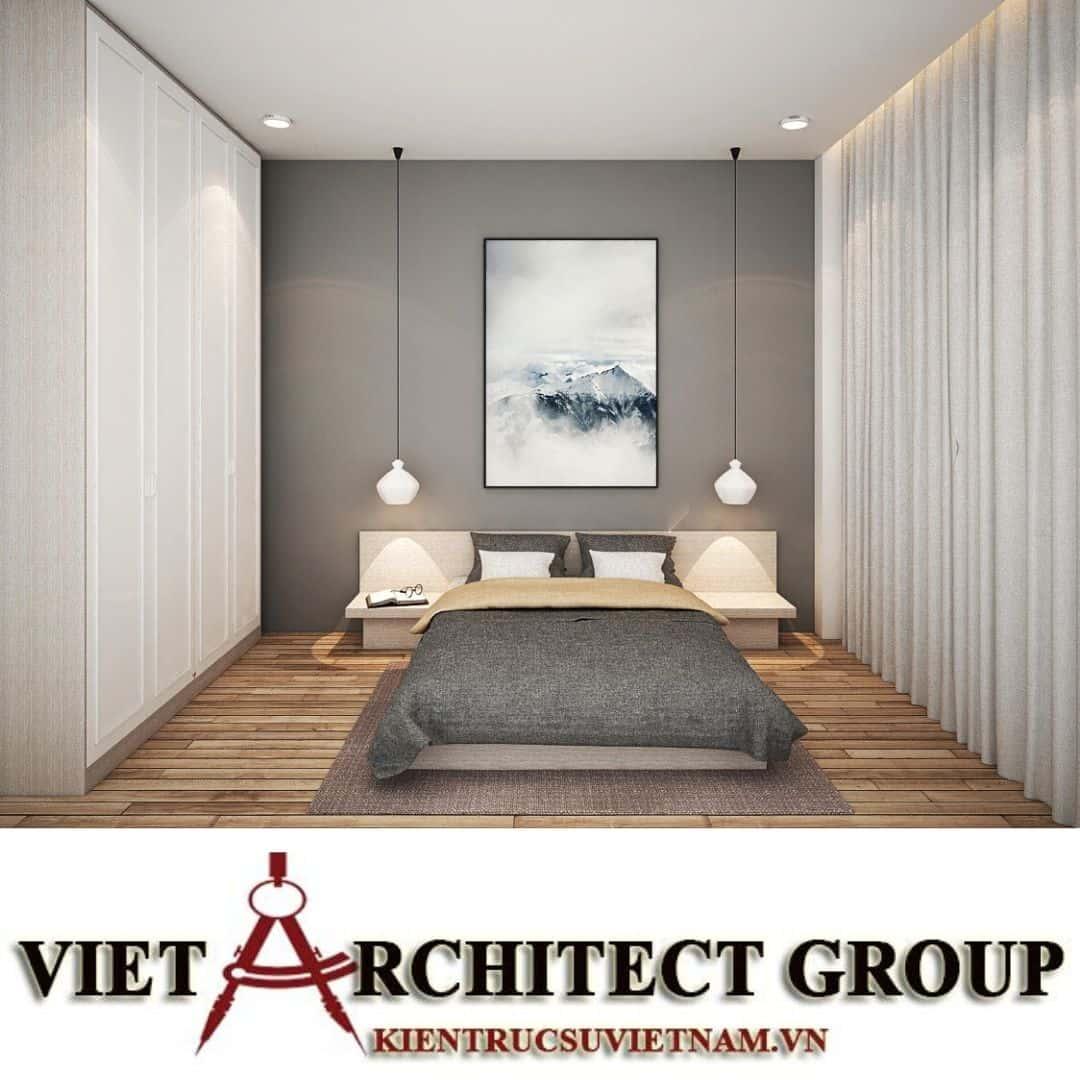 13 1 - Công trình biệt thự 2 tầng chữ L mái thái chị Vy - huyện Hóc Môn
