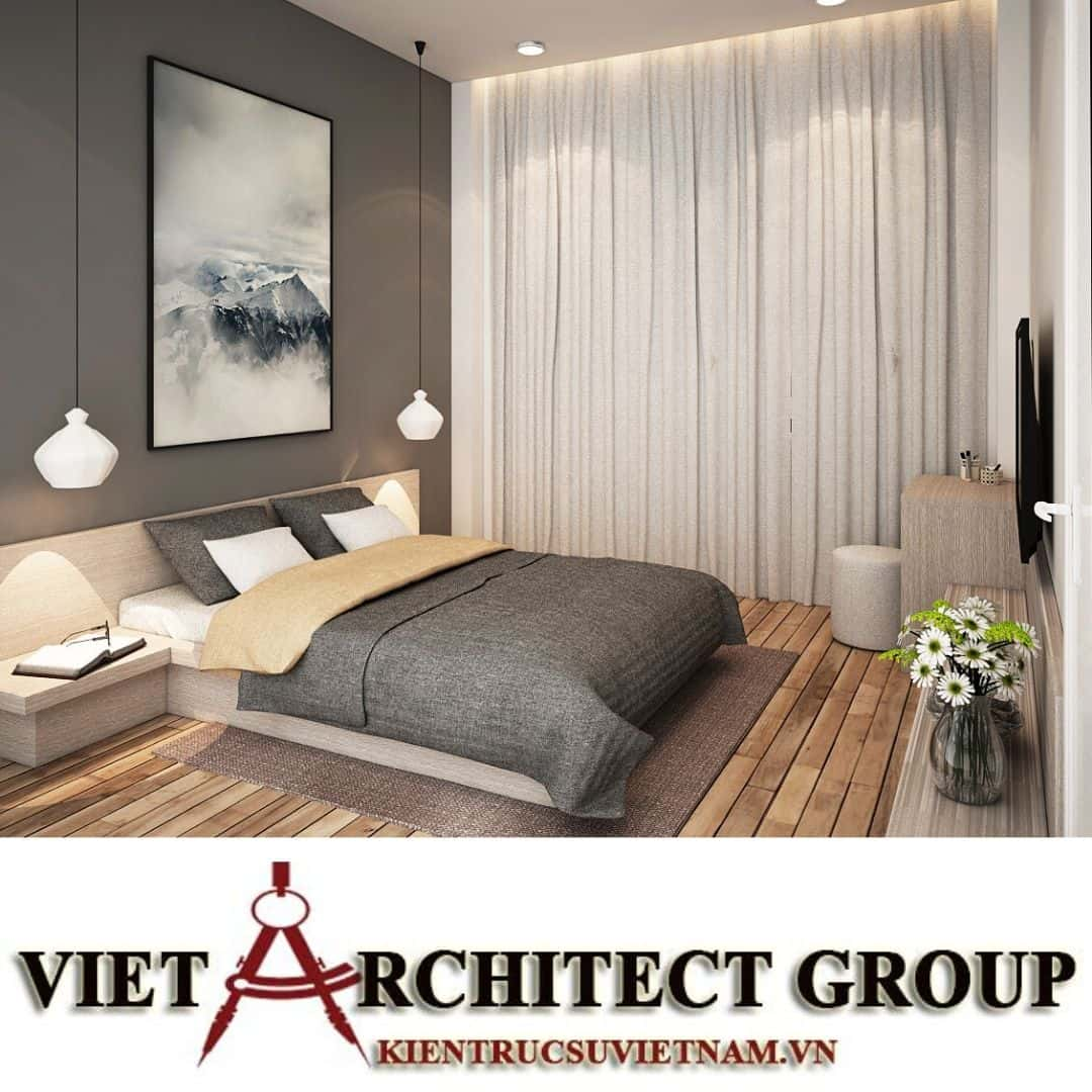 15 2 - Công trình biệt thự 2 tầng chữ L mái thái chị Vy - huyện Hóc Môn