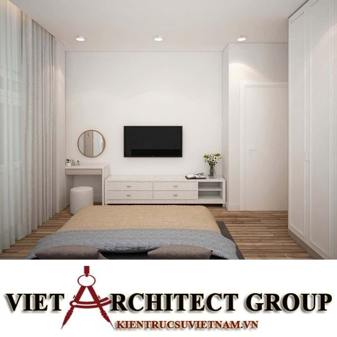 16 2 - Công trình biệt thự 2 tầng chữ L mái thái chị Vy - huyện Hóc Môn