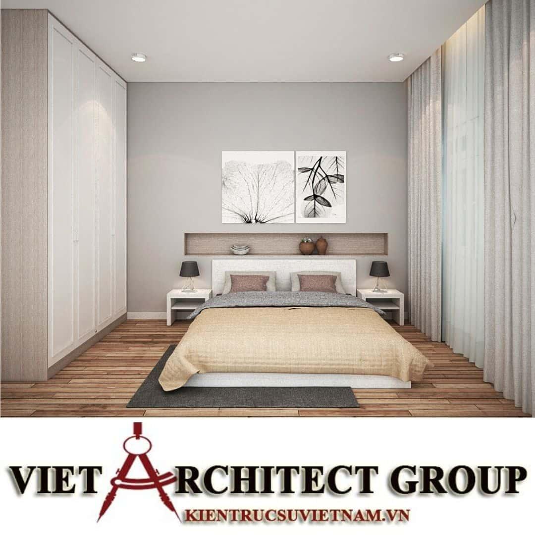 17 2 - Công trình biệt thự 2 tầng chữ L mái thái chị Vy - huyện Hóc Môn