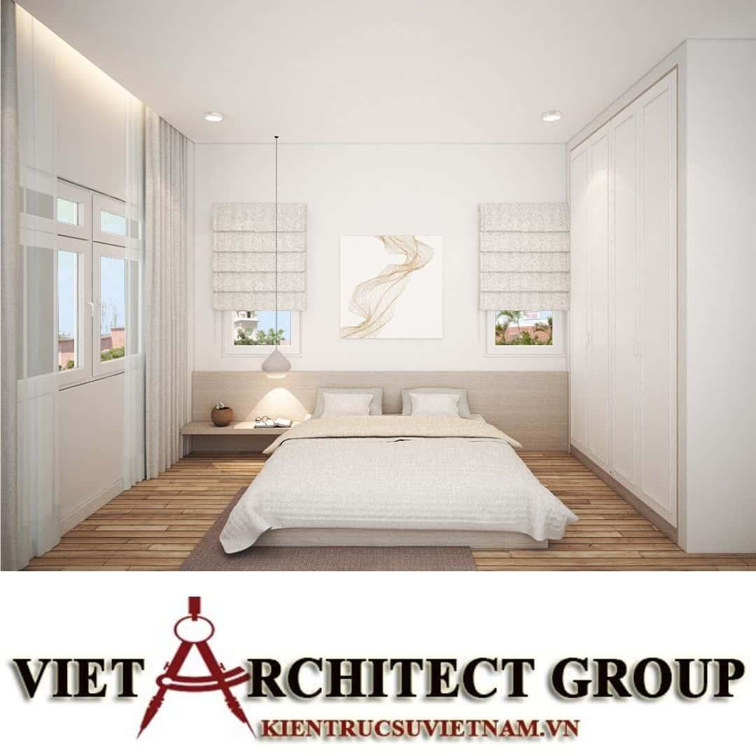 19 1 - Công trình biệt thự 2 tầng chữ L mái thái chị Vy - huyện Hóc Môn