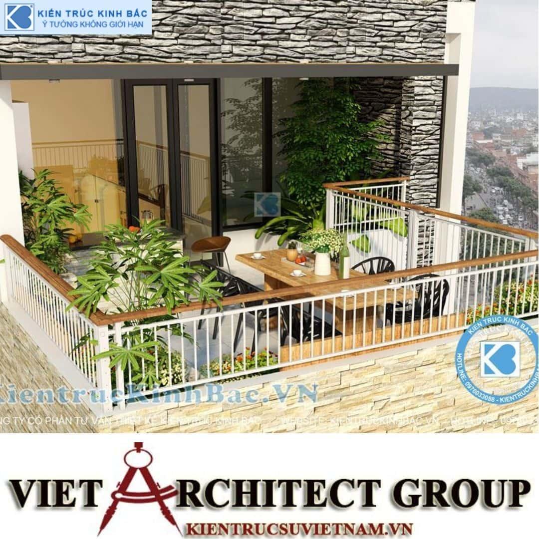 2 11 - Công trình nhà phố 4 tầng mặt tiền 9m anh Định - Hà Nội