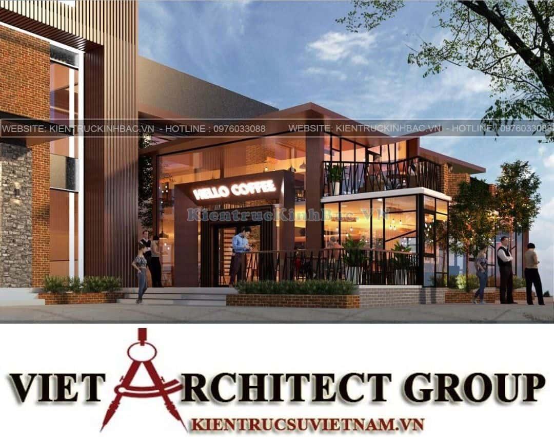 2 14 - Thiết kế tổ hợp kinh doanh nhà hàng Vân Long