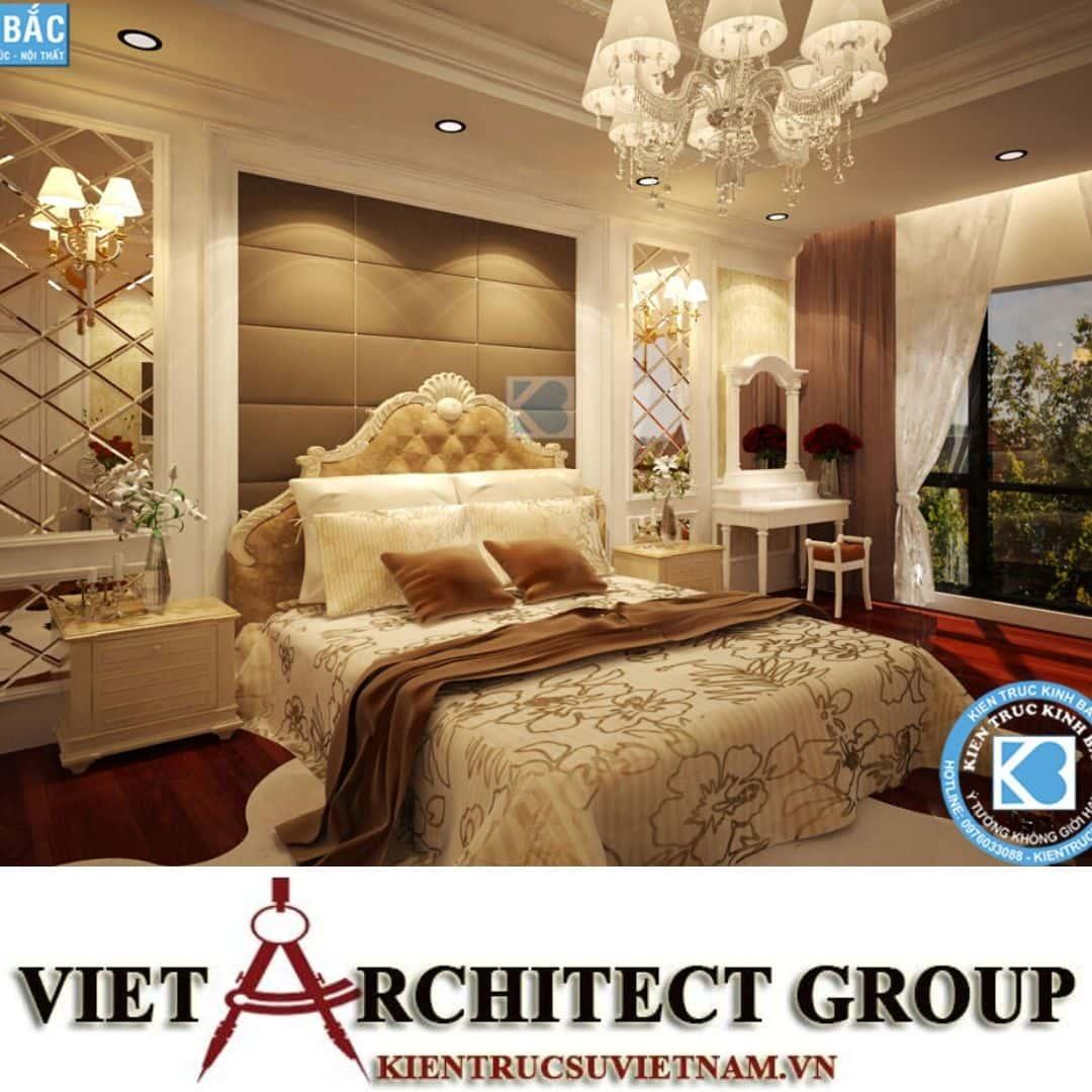2 20 - Công trình thiết kế biệt thự tân cổ điển 3 tầng tại Hà Nội