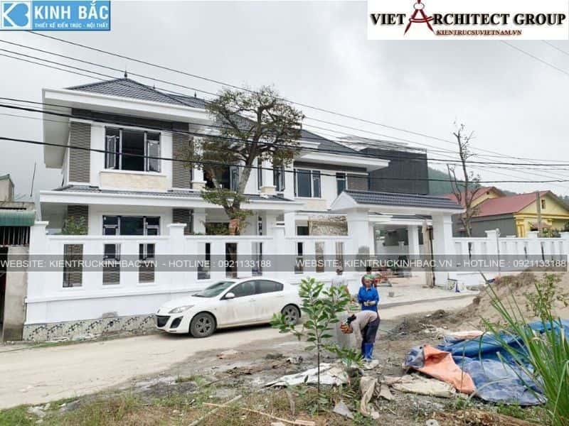 2 21 - Công trình thiết kế biệt thự 2 tầng mái thái anh Cảnh - Hoà Bình