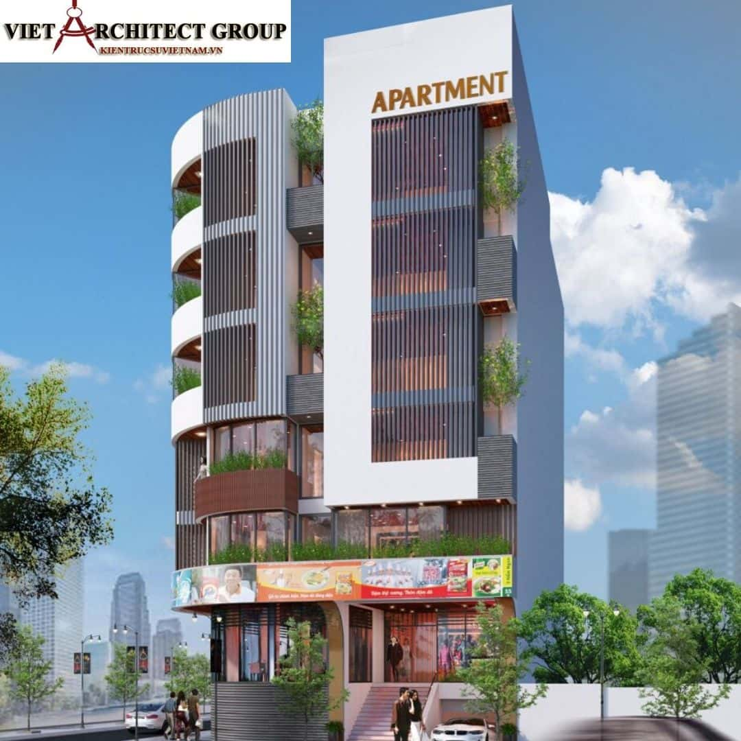 2 46 - Công trình thiết kế căn hộ lô góc phố 2 mặt tiền Lý Nhật Quang - Đà Nẵng