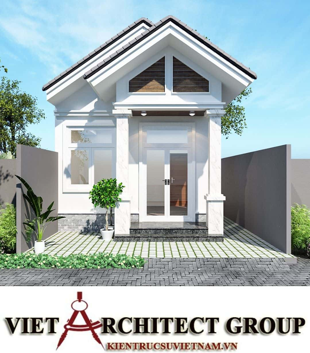 2 62 - Công trình nhà ở trệt mái thái diện tích 120m2 Mr Thi - Thủ Đức, TPHCM