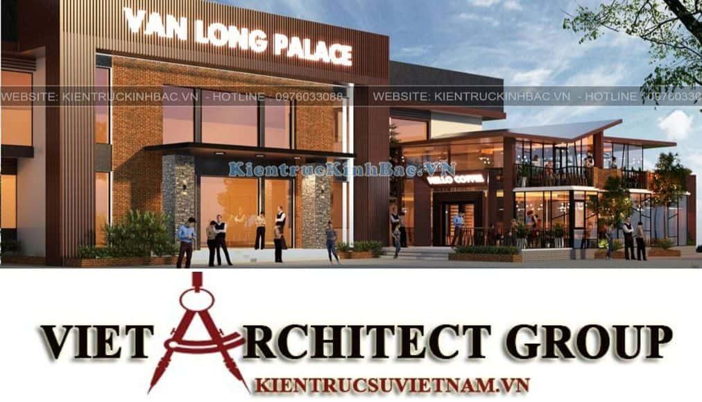 2 copy - Thiết kế tổ hợp kinh doanh nhà hàng Vân Long
