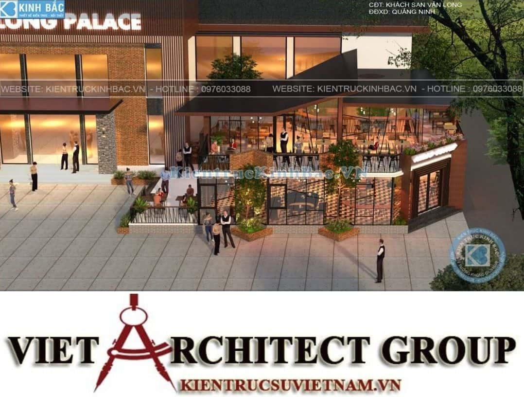 3 13 - Thiết kế tổ hợp kinh doanh nhà hàng Vân Long