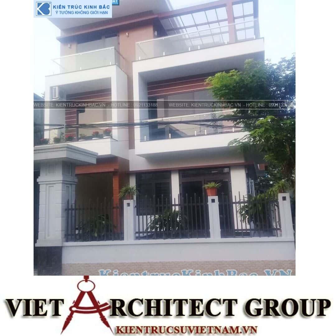 3 30 - Công trình thiết kế biệt thự 3 tầng hiện đại anh Tá - Hà Nội