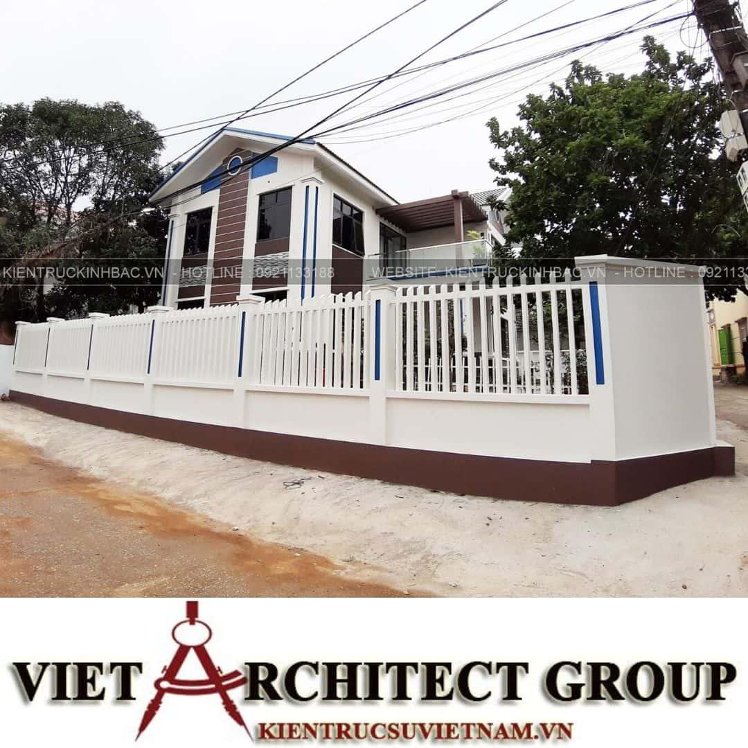 3 42 - Công trình thiết kế biệt thự 2 tầng mái thái anh Quý - Ninh Bình