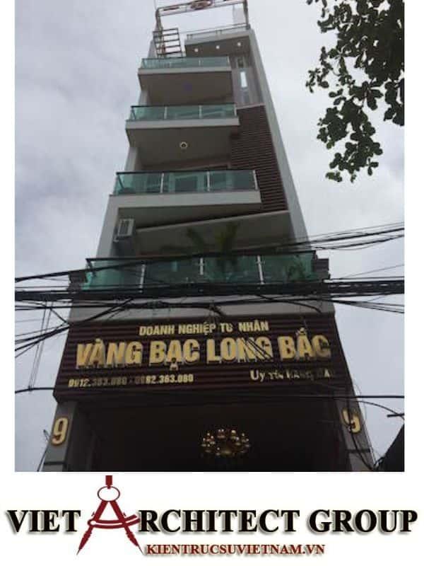 3 43 - Công trình thiết kế nhà ống 5 tầng anh Bắc - Hiệp Hoà, Bắc Giang