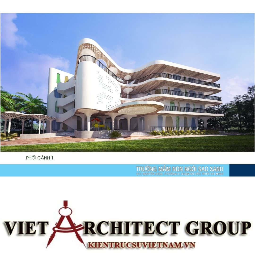 3 49 - Thiết kế trường mầm non quận Gò Vấp tiêu chuẩn quốc gia