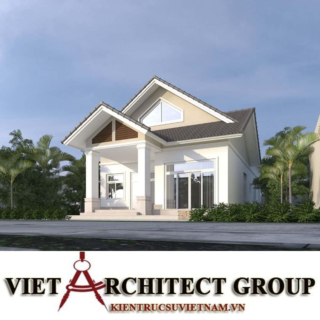 3 54 - Công trình nhà ở 1 tầng mái thái 3 phòng ngủ chị Dung - Nhơn Trạch, Đồng Nai